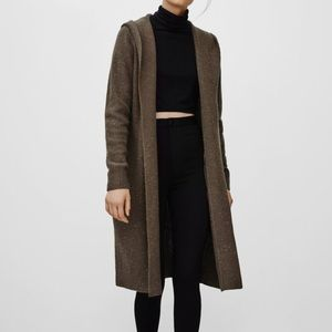 Aritzia Talula Looshen Cardigan Sweater